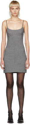 Alexander Wang Grey Tailored Mini Dress