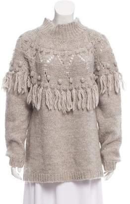 Rachel Zoe Wool Turtleneck Sweater
