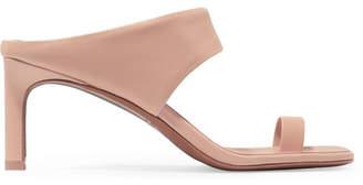 Zimmermann Leather Sandals - Beige