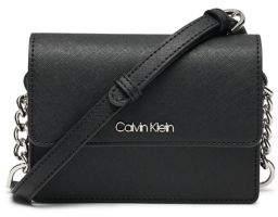 Calvin Klein Hayden Chain Leather Crossbody Bag