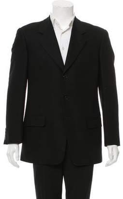 Valentino Wool Three-Button Blazer