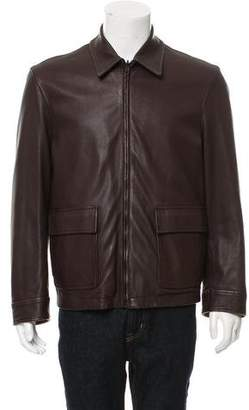 Givenchy Reversible Leather Jacket