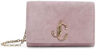 Jimmy Choo Small Suede Varenne Clutch Bag