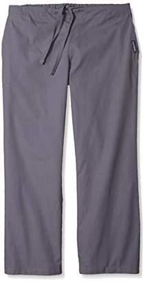 Landau Petite Plus Women's Natural Flare Leg Scrub Pant,X-Small/Tall