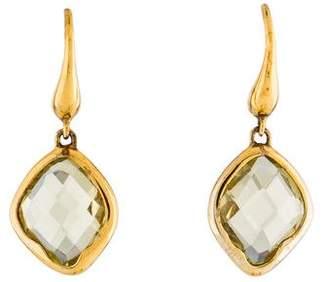 Monica Vinader Quartz Drop Earrings