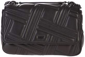DKNY Black Quilted Shoulder Bag