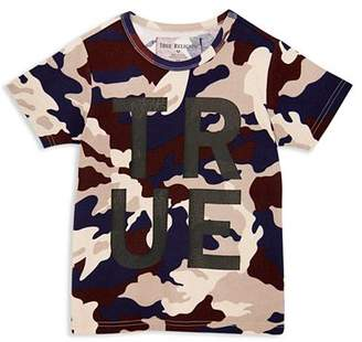 True Religion Boys' Camo-Print Logo Tee - Big Kid