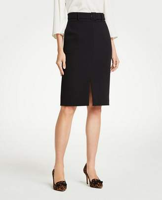 Ann Taylor Belted Pencil Skirt