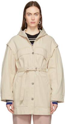 Etoile Isabel Marant Off-White Denim Ifea Jacket