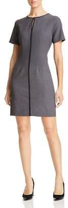 T Tahari Short-Sleeve Sheath Dress
