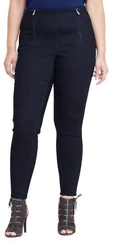 Lauren Ralph LaurenLauren Ralph Lauren Plus Stretch Cotton Skinny Pants
