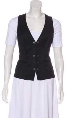 Ted Baker Wool Paneled Vest