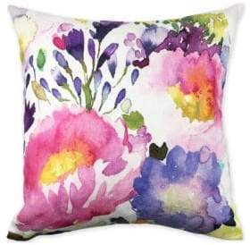 Bluebellgray Floral Printed Cushion