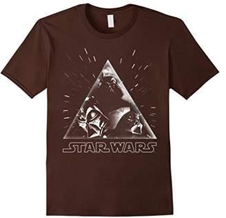 Star Wars Darth Vader Vintage Art Triangle Graphic T-Shirt