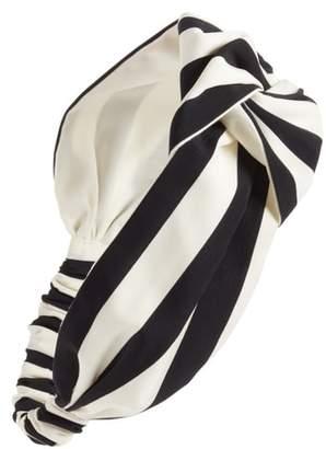 Cara Oversize Stripe Head Wrap