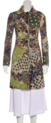 Etro Wool Printed Coat