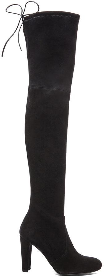 Stuart Weitzman Highland Suede Boots