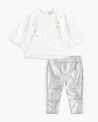 Splendid Baby Girl Embroidered French Terry Top