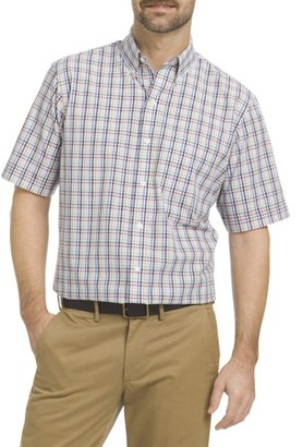 Arrow Men's Short Sleeve Hamilton Poplin Shirt