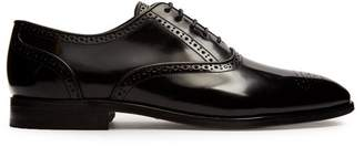 Paul Smith - Gould Leather Derby Shoes - Mens - Black