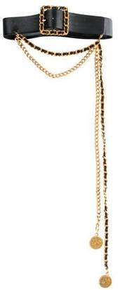 Chanel Chain-Link Medallion Belt