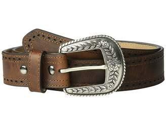 Ariat Classic with Pierced Edge Trim Belt