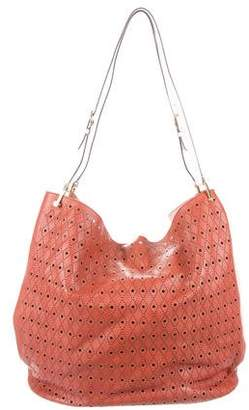 Tod's Perforated Bucket Tote