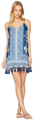 Show Me Your Mumu Throw Go Tassel Mini Dress Women's Dress