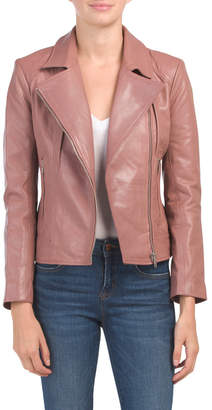 BB Dakota Juniors Washed Leather Jacket