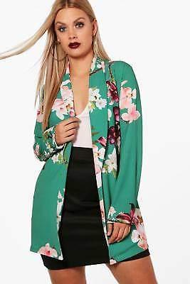 Plus Holly Oriental Belted Blazer