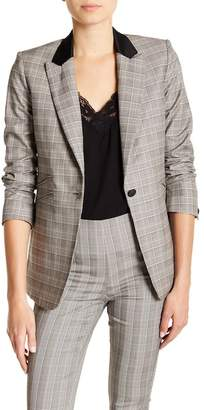 Rag & Bone Ridley Glen Plaid Wool & Cotton Blazer