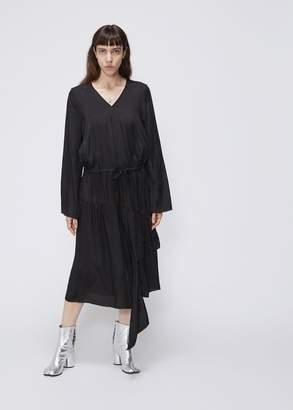 MS MIN V-Neck Gather Dress
