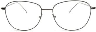 New York D-frame optical glasses