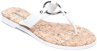 Bernardo Women's Jelly Ring Thong Sandals