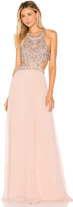 Parker Black Charlotte Gown