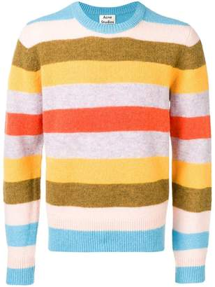 Acne Studios Kai Block Stripe jumper