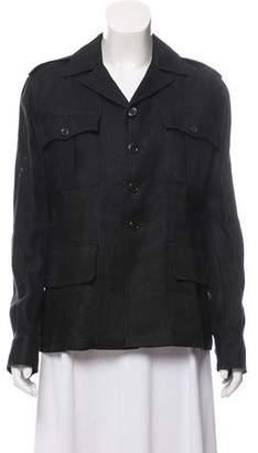 Ralph Lauren Purple Label Safari Linen Jacket w/ Tags