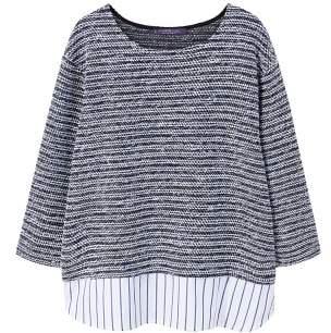 Violeta BY MANGO Shirt hem sweatshirt