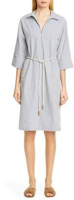 Lafayette 148 New York Nicole Belted Midi Shirtdress