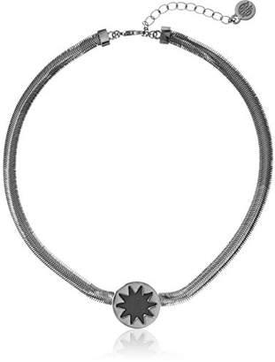 """House Of Harlow Mini sunburst choker necklace13.5 + 2"""" Extender"""