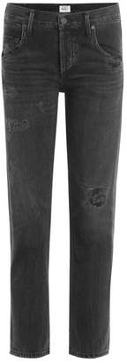 Citizens of Humanity Distressed Ankle Jeans