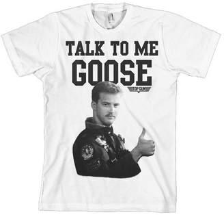 Top Gun T Shirt Talk To Me Goose new Official Mens
