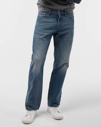 Express Classic Boot Light Wash 100% Cotton Jeans