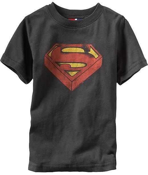 Junk Food®; superhero graphic T
