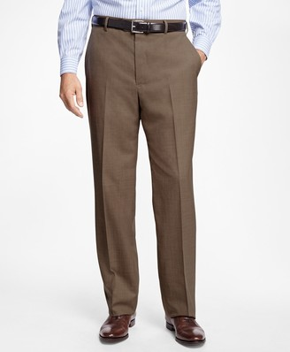 Brooks Brothers Regent Fit Saxxon Wool Trousers