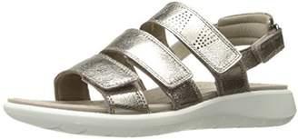 Ecco Women's Women's Soft 5 3-Strap Sandal