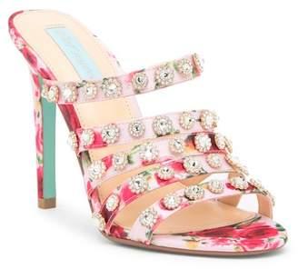 Betsey Johnson Jovi Embellished Strappy Sandal