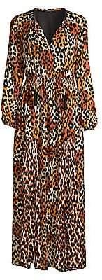 Kobi Halperin Women's Kiana Leopard Maxi Dress