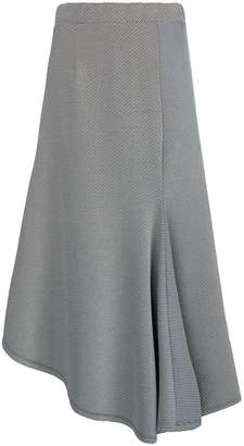 Sid Neigum striped asymmetric skirt
