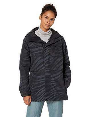 Volcom Women's Leeland Micro Fleece Lined Snow Jacket